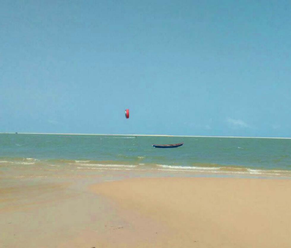 Kitesurf en Atins Brasil