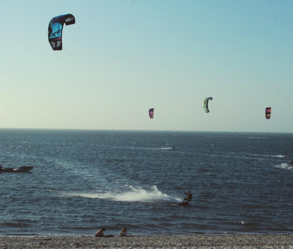 Kitesurf Barra Grande Brasil
