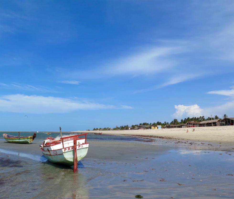 Kitesurf en Barra Grande