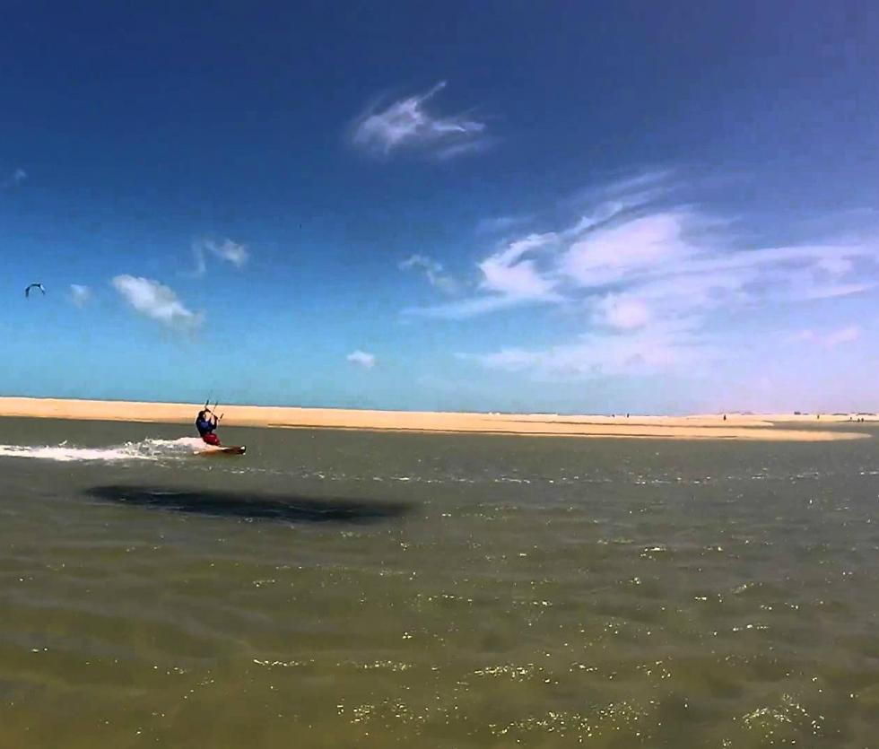 Kitesurf en Barra Nova