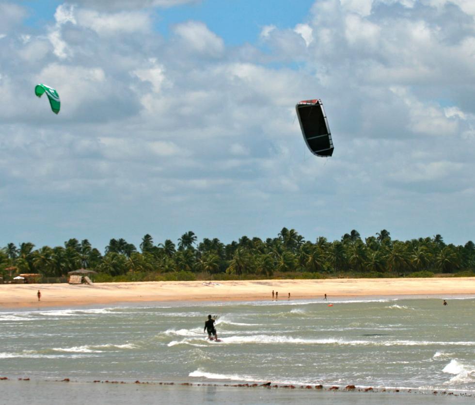 Kitesurf en São Miguel do Gostoso