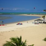 Kitesurfing Sao Miguel do Gostoso Brazil