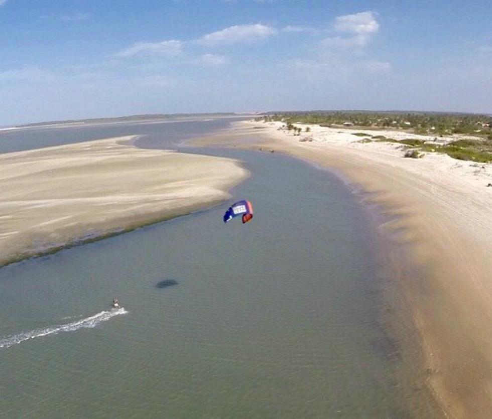Kitesurfing in Atins