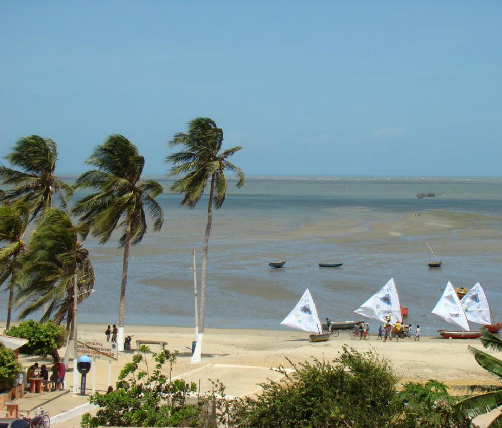 Kite en Barra Grande Brasil