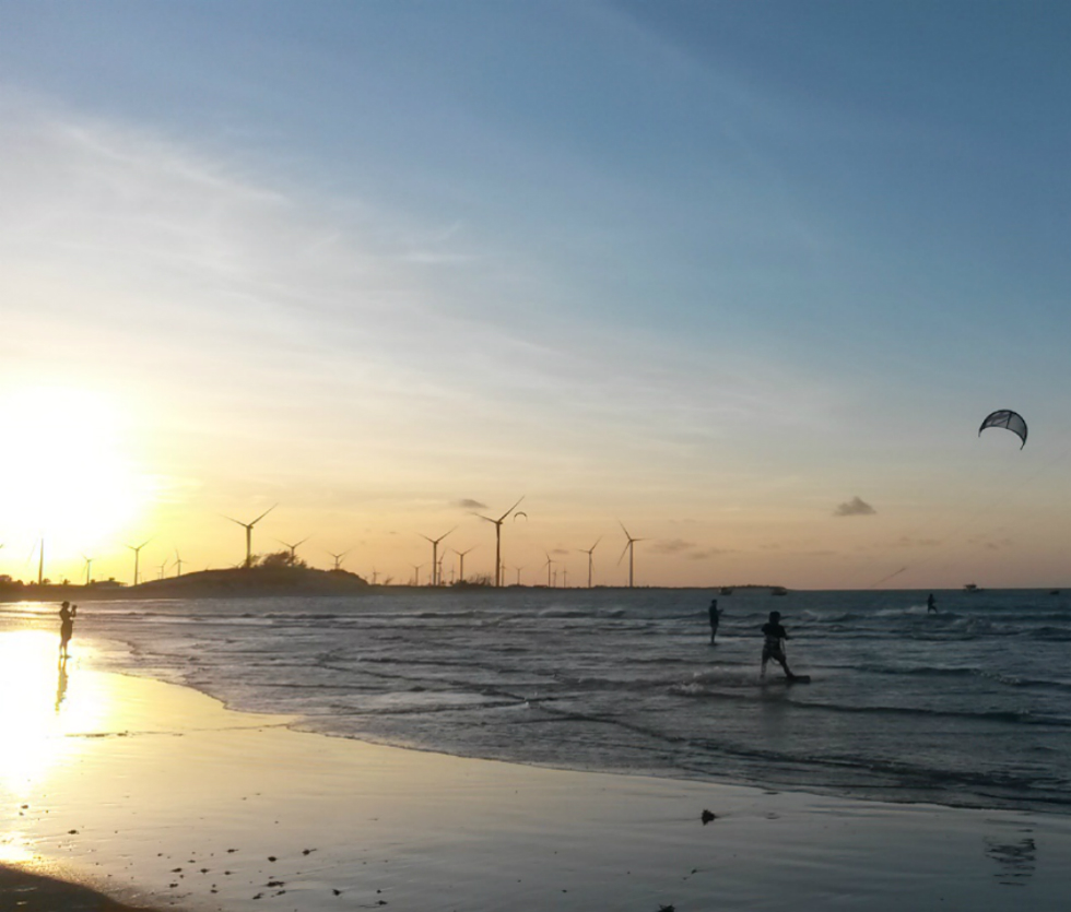 kite en Galinhos