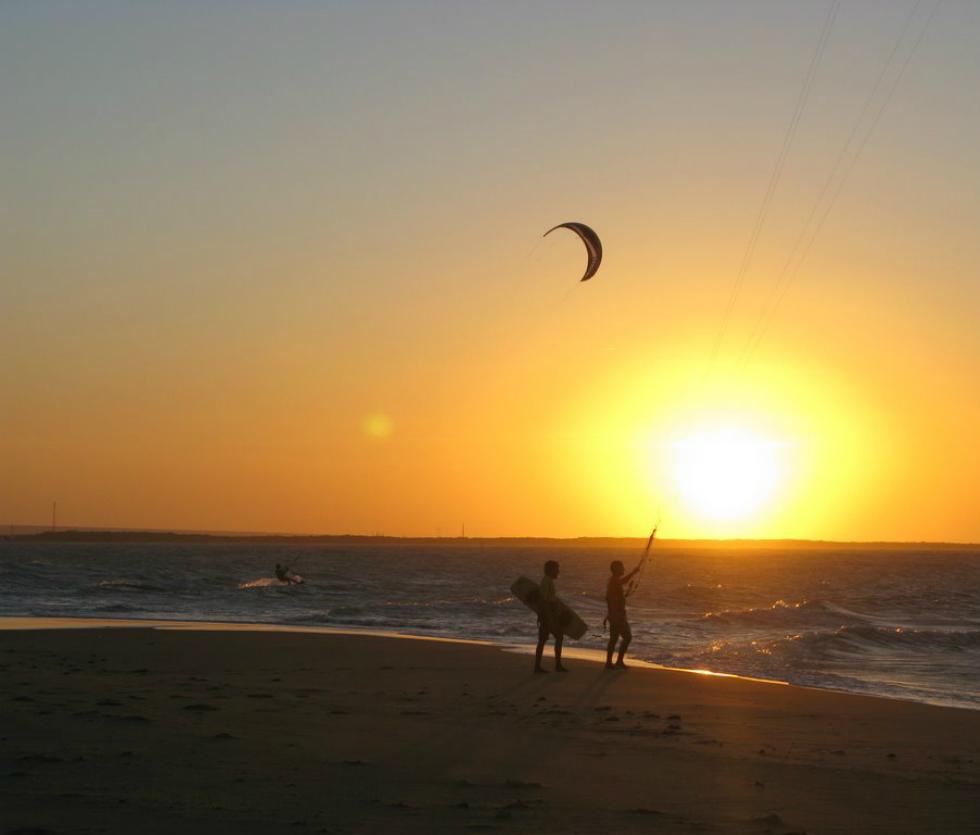 kitesurfing Galinhos