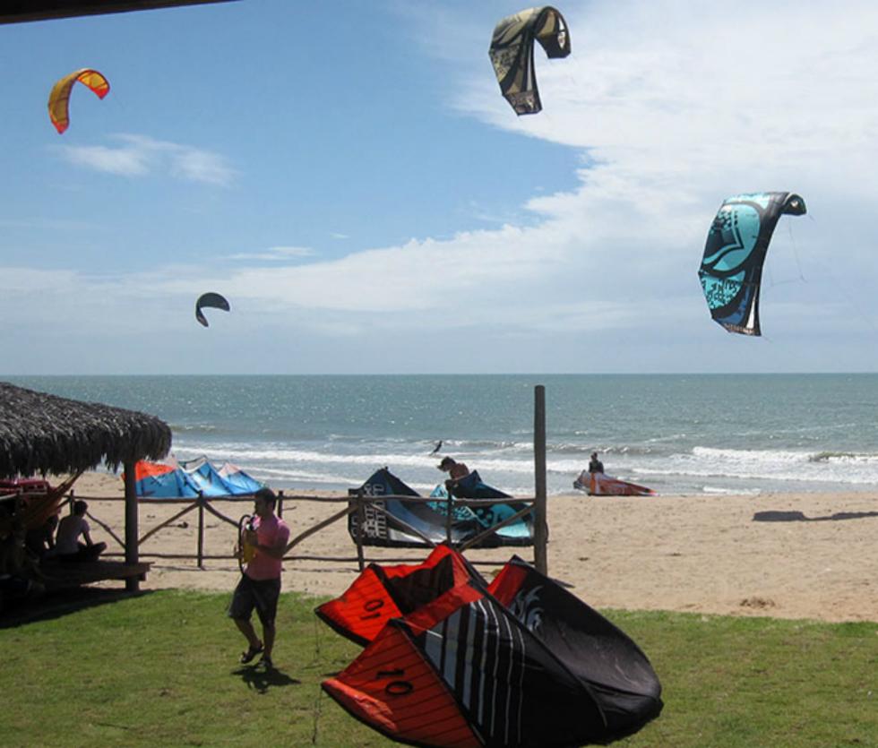 kitesurfing Icaraizinho
