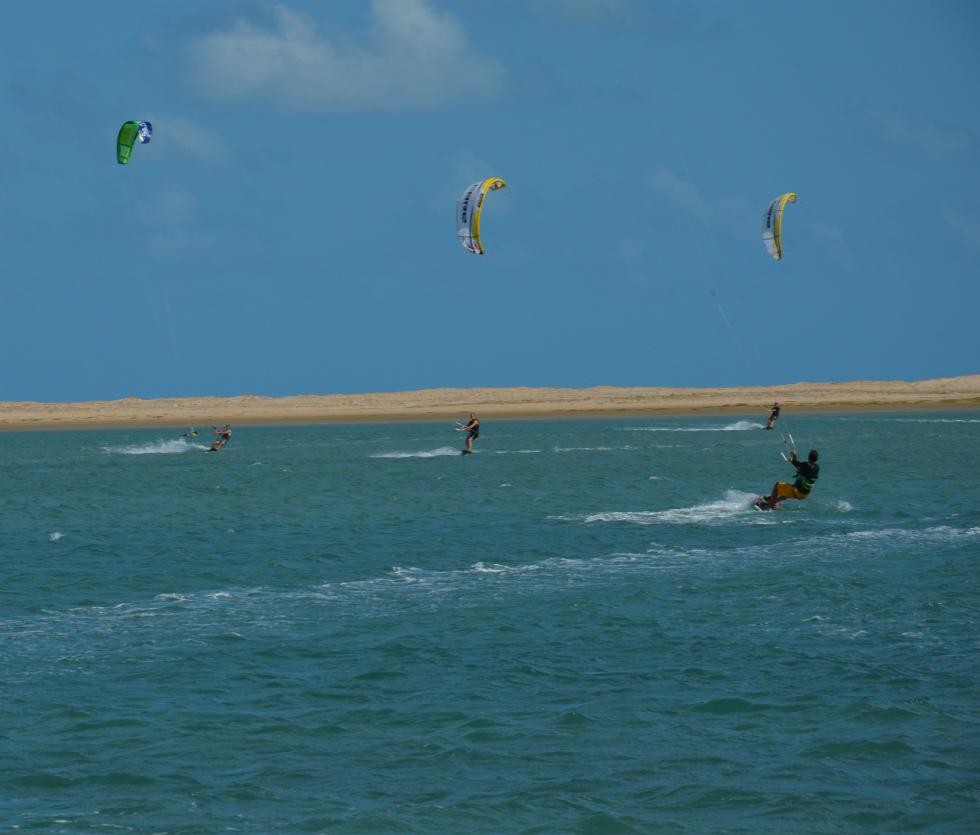 Kitesurf en Ilha do Guajiru