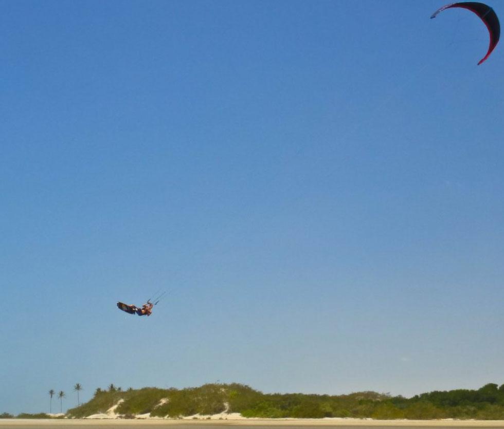 Kitesurfing Tatajuba
