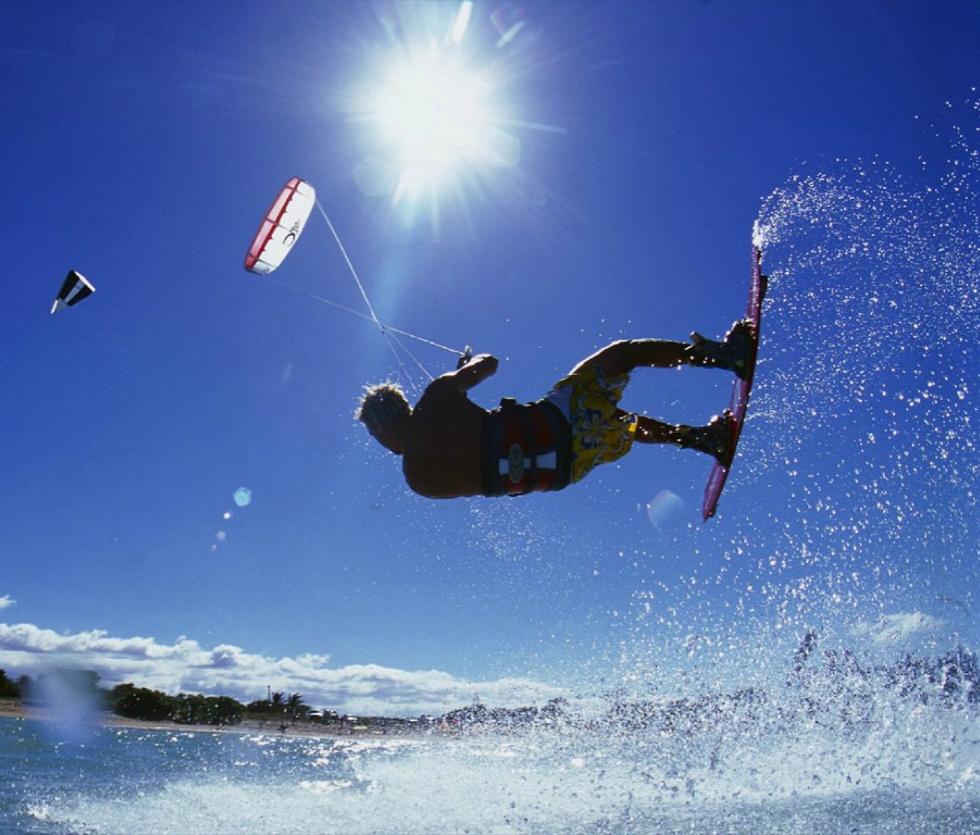 Kitesurf in Cumbuco